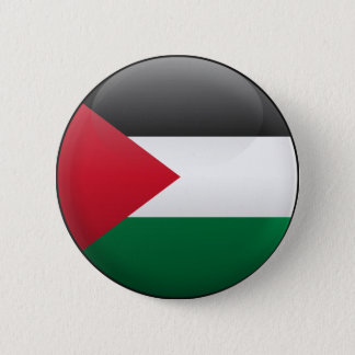 Flag of Palestine 2 Inch Round Button