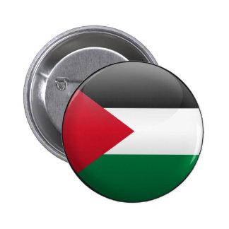 Flag of Palestine 2 Inch Round Button