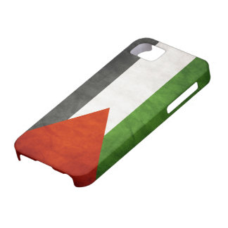 Flag of Palestine - Grunge iPhone 5 Case