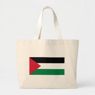 Flag_of_Palestine Large Tote Bag