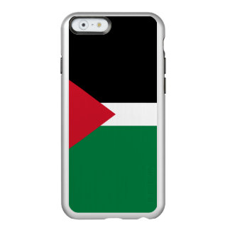 Flag of Palestine Silver iPhone Case