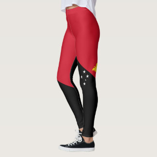 Flag of Papua New Guinea Leggings