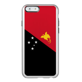 Flag of Papua New Guinea Silver iPhone Case Incipio Feather® Shine iPhone 6 Case