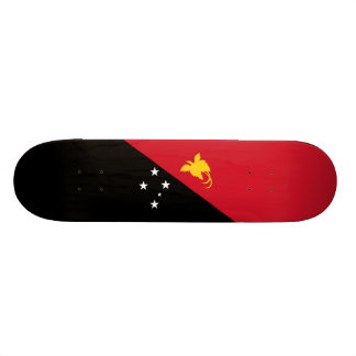 Flag of Papua New Guinea Skateboard Deck