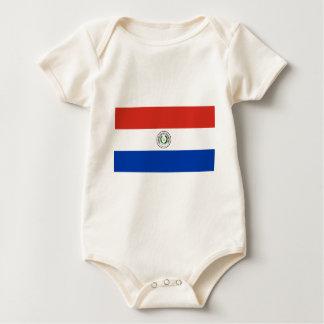 Flag_of_Paraguay Baby Bodysuit