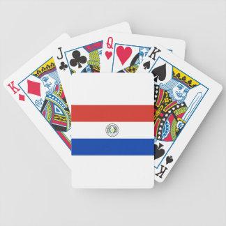 Flag of Paraguay - Bandera de Paraguay Bicycle Playing Cards
