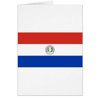 Flag of Paraguay - Bandera de Paraguay Card