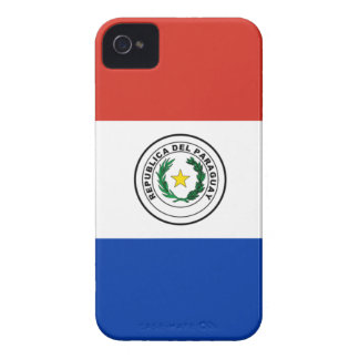 Flag of Paraguay - Bandera de Paraguay iPhone 4 Cases