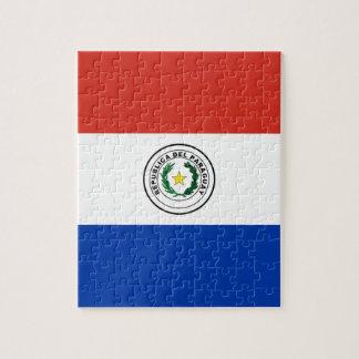 Flag of Paraguay - Bandera de Paraguay Jigsaw Puzzle