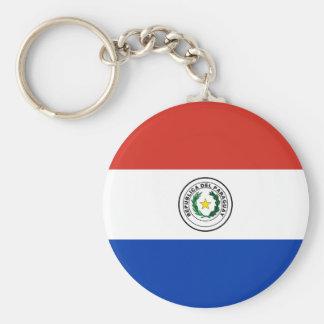 Flag of Paraguay - Bandera de Paraguay Keychain