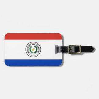 Flag of Paraguay - Bandera de Paraguay Luggage Tag