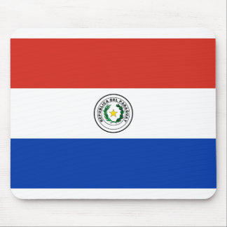 Flag of Paraguay - Bandera de Paraguay Mouse Pad