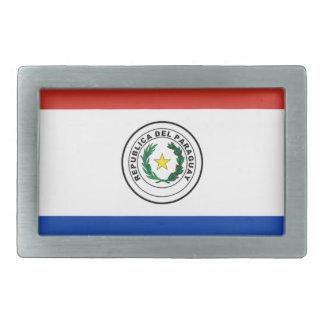 Flag of Paraguay - Bandera de Paraguay Rectangular Belt Buckles