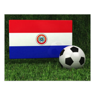 Flag of Paraguay Invite