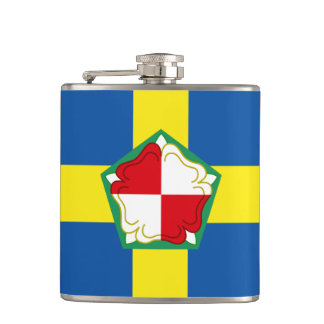 Flag of Pembrokeshire Hip Flask