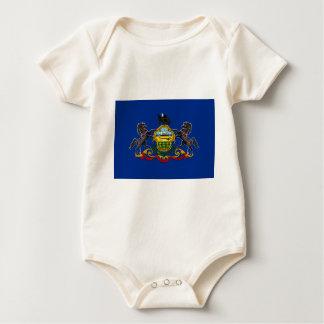Flag OF Pennsylvania Baby Bodysuit