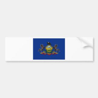 Flag OF Pennsylvania Bumper Sticker