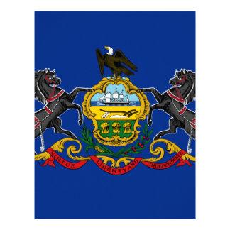 Flag OF Pennsylvania Letterhead