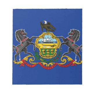 Flag OF Pennsylvania Notepad