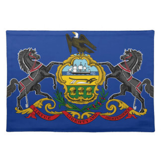 Flag OF Pennsylvania Placemat