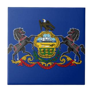 Flag OF Pennsylvania Tile