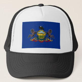 Flag OF Pennsylvania Trucker Hat