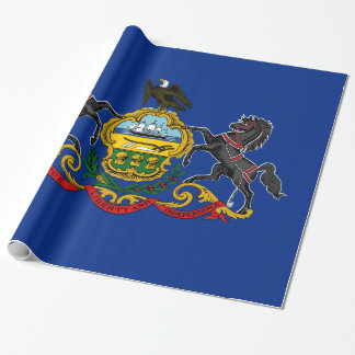 Flag of Pennsylvania Wrapping Paper