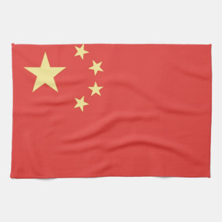 Flag of Peoples Republic of China Kitchen Towel