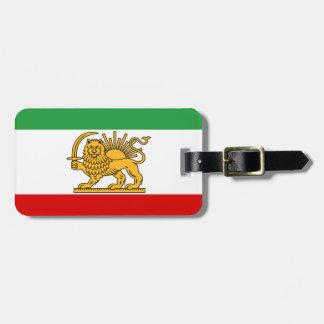 Flag of Persia / Iran (1964-1980) Bag Tag