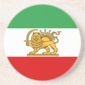 Flag of Persia / Iran (1964-1980) Drink Coaster