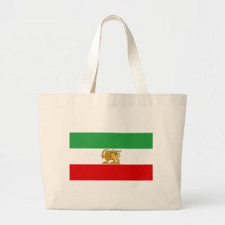 Flag of Persia / Iran (1964-1980) Large Tote Bag