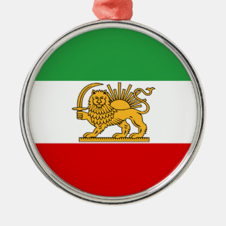 Flag of Persia / Iran (1964-1980) Metal Ornament