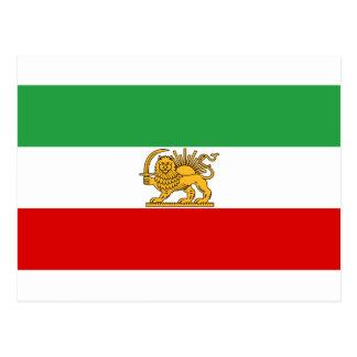Flag of Persia / Iran (1964-1980) Postcard