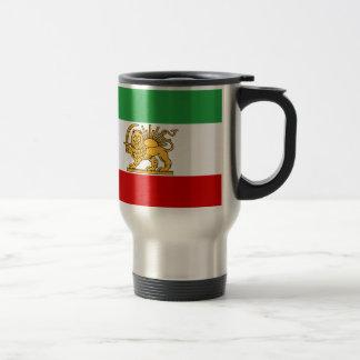 Flag of Persia / Iran (1964-1980) Travel Mug