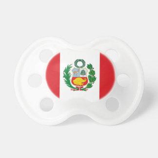 Flag of Peru Pacifier