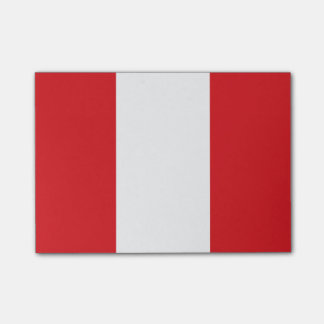 Flag of Peru Post-it® Notes