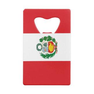 Flag of Peru Wallet Bottle Opener
