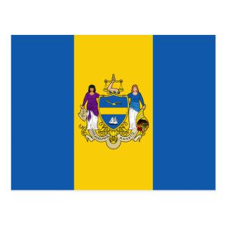 Flag of Philadelphia, Pennsylvania Postcard