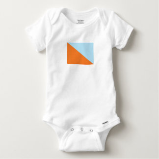 Flag of Pikud Ha'Oref Baby Onesie