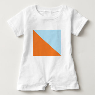 Flag of Pikud Ha'Oref Baby Romper
