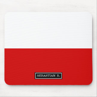 Flag of Poland Mouse Pad