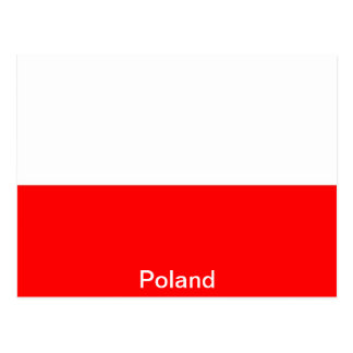 Flag of Poland Postcard