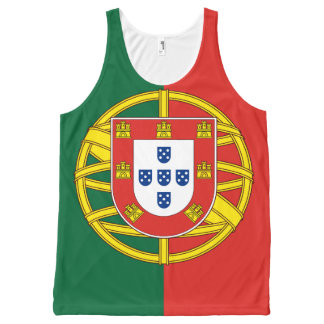 Flag of Portugal All-Over-Print Tank Top