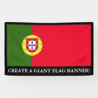 Flag of Portugal Banner