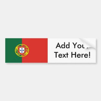 Flag of Portugal Bumper Sticker