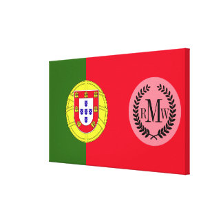 Flag of Portugal Canvas Print