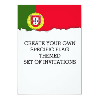Flag of Portugal Card