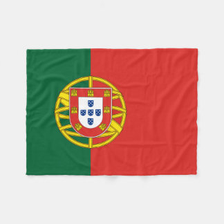 Flag of Portugal Fleece Blanket