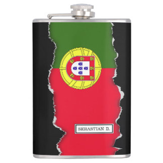 Flag of Portugal Hip Flask