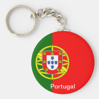 Flag of Portugal Keychain